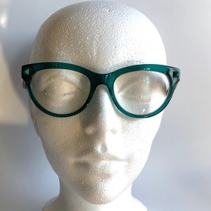 Valentino v2689 Glasses Green with Havana Arms